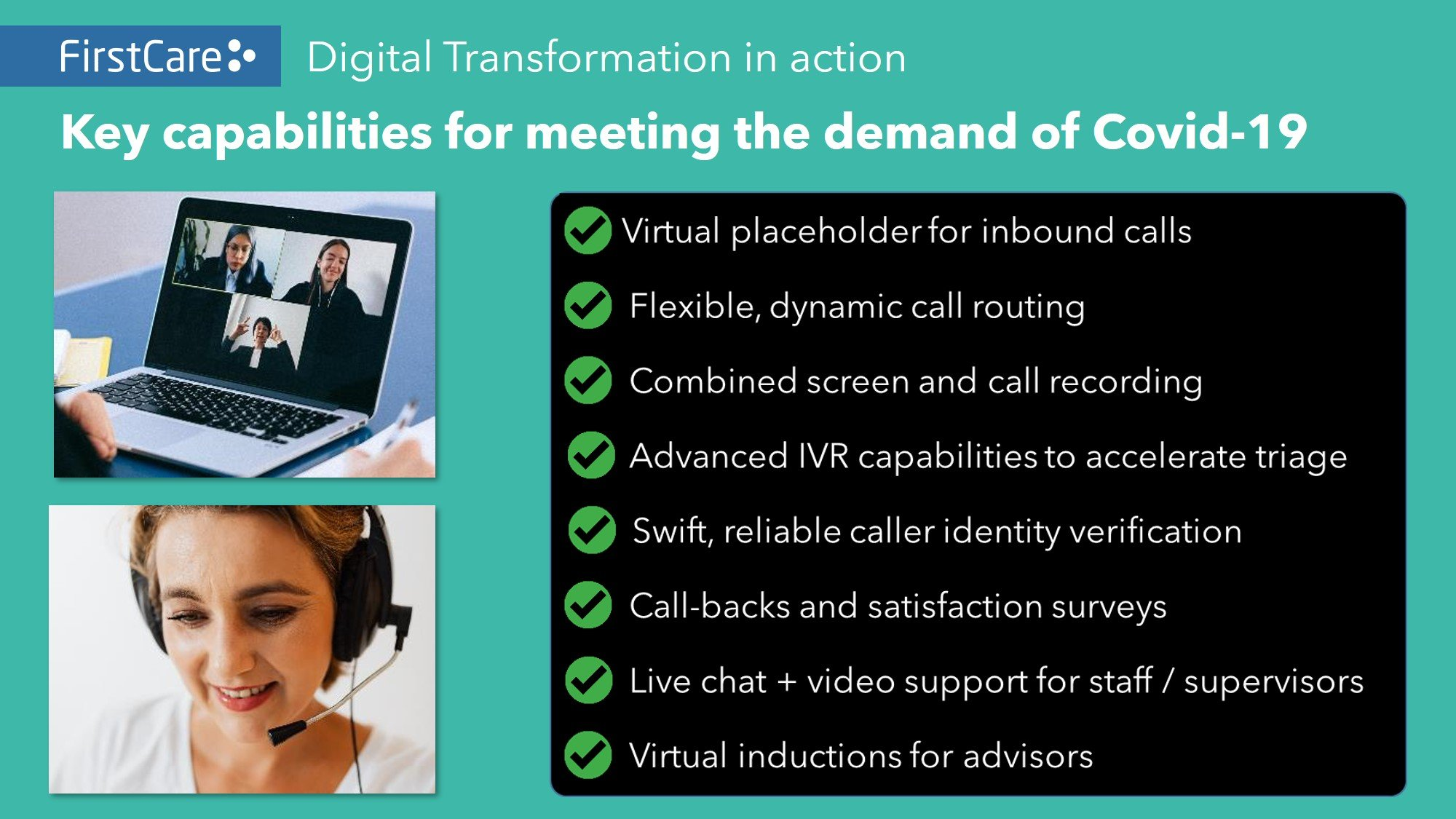 FirstCare Digital Transformation In Action