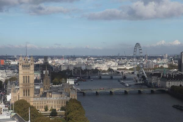 The view of Westminster from Altitude 360 at the FirstCare User Group