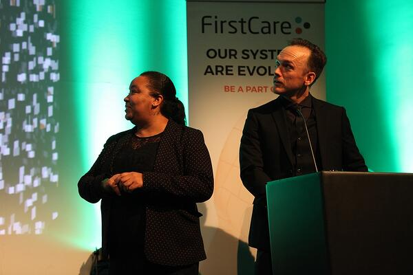 FirstCare User Group Awards presentation