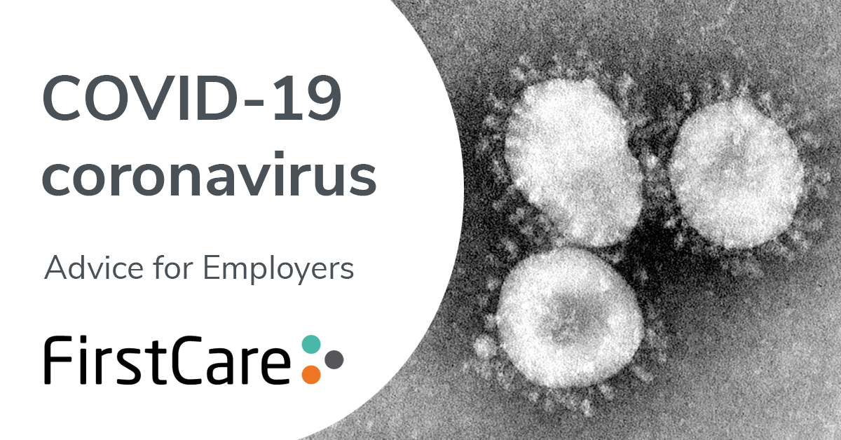 Coronavirus disease (COVID-19) – advice for employers - updated 29/05/20