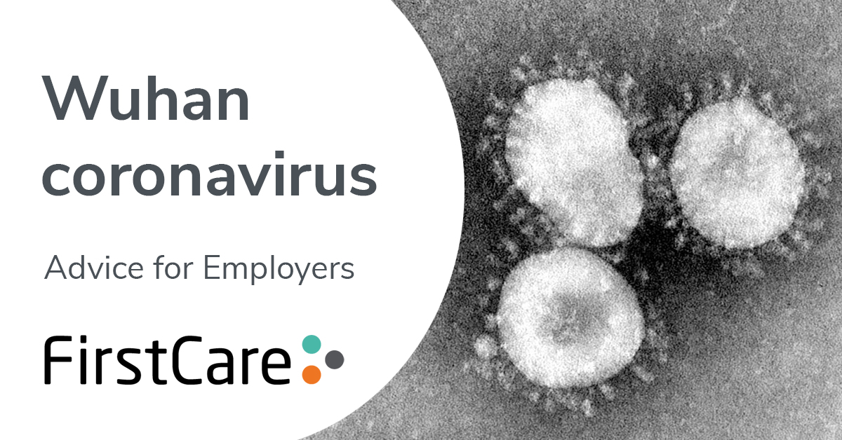 Wuhan coronavirus (COVID-19) – advice for employers